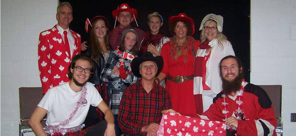 Fun times at Red, White and Youth Banquet
