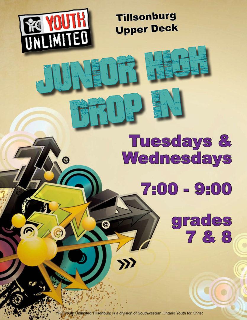 Junior High Drop In